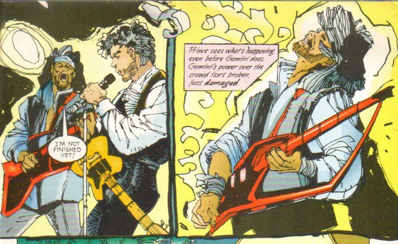 Prince em quadrinhos