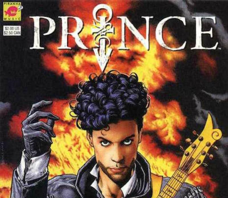 """""""Alter-ego"""": Prince em quadrinhos"""
