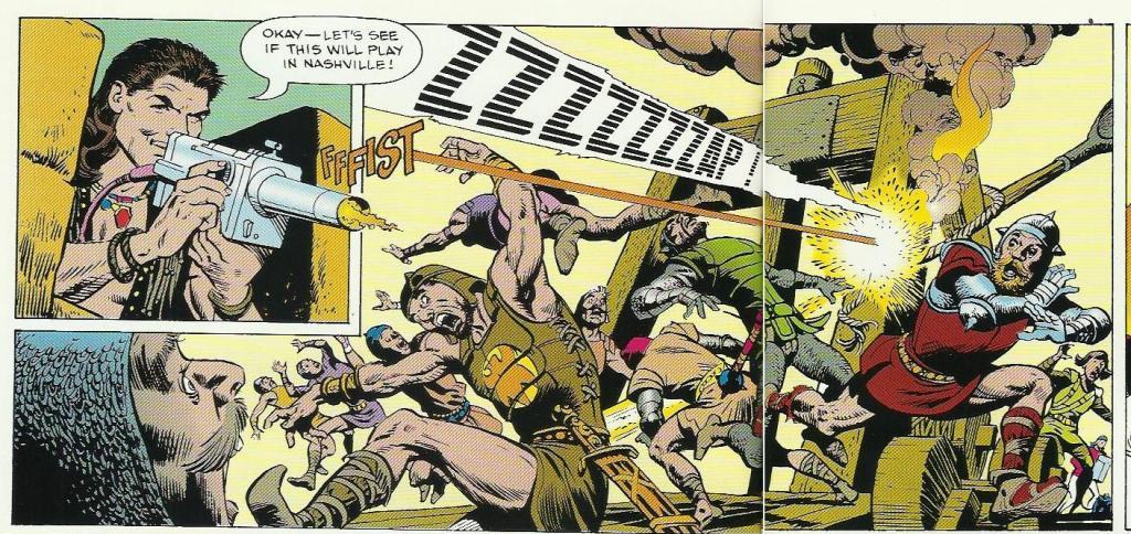 O dia em que Billy Ray Cyrus virou herói da Marvel