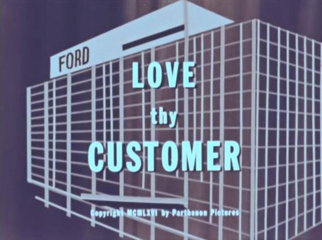 Um filme institucional da Ford de 1965 com trilha dos Doors