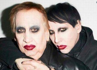 Marilyn Manson homenageia o pai, morto nesta sexta, com foto de infância
