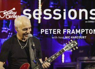 De fazer chorar: Peter Frampton toca Black Hole Sun do Soundgarden