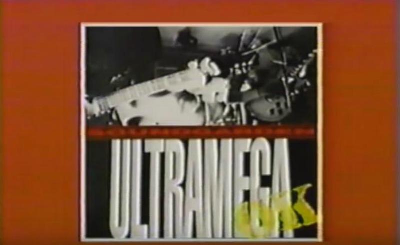 Ultramega OK, do Soundgarden, em propaganda na TV em 1988