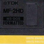 Disco do Toxic Chicken, lançado em disquete