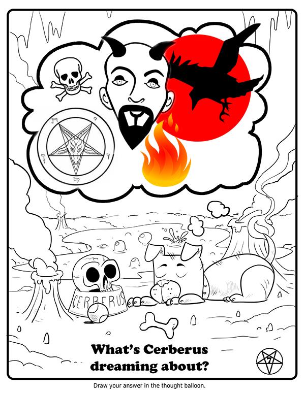 Guia de atividades das crianças satânicas