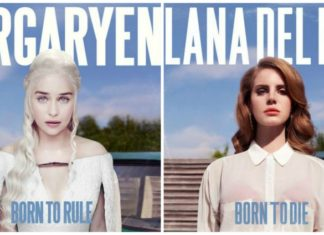 """Personagens de """"Game of Thrones"""" em capas de discos"""