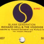 """Blank generation"", de Richard Hell, no Invisível"