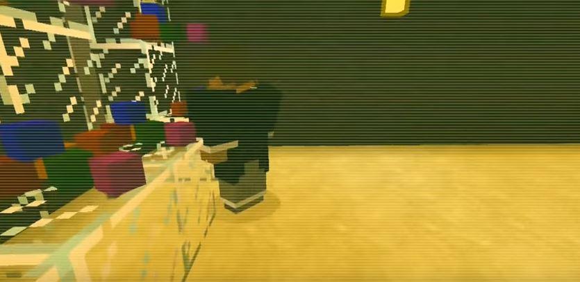 Choque da uva, versão Minecraft