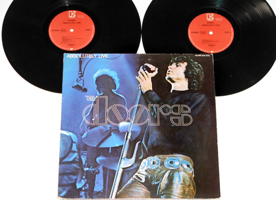 LP Absolutely live, dos Doors