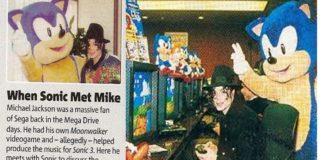 "Michael Jackson na trilha sonora de ""Sonic 3"""