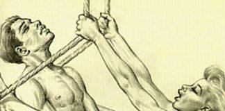 Tom Poulton era um desenhista de livros médicos que, nas horas vagas, fazia desenhos de gente transando