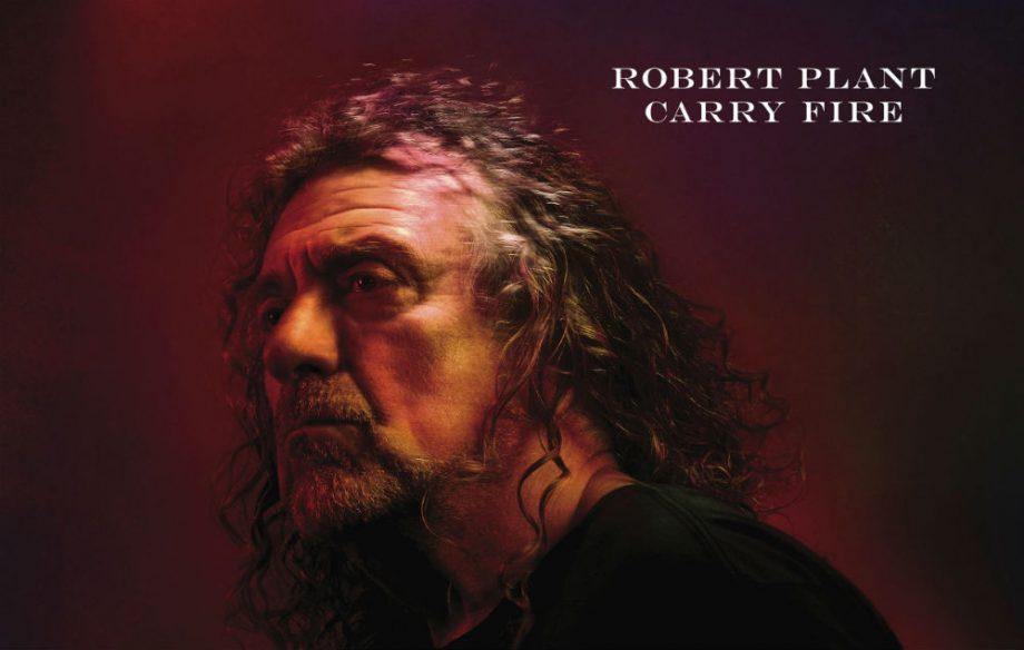 """Capa do novo disco de Robert Plant, """"Carry fire"""""""
