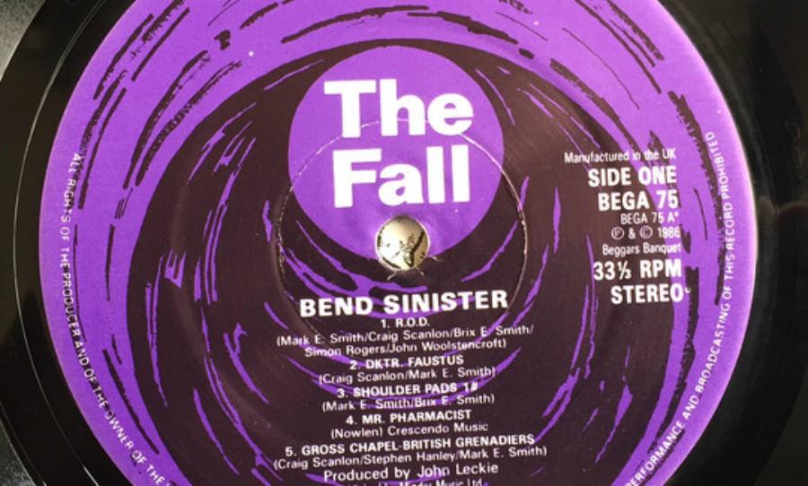 As gravadoras do The Fall