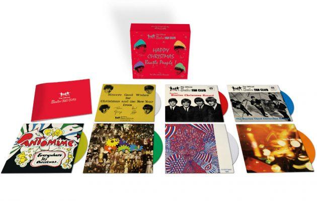 Olha a caixa dos Beatles aí
