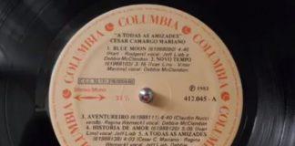 Cesar Camargo Mariano gravando disco nos EUA em 1983