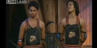 Dadagiri: porradaria num reality show indiano