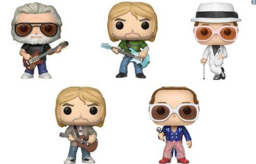 Funko lança bonecos de Kurt Cobain