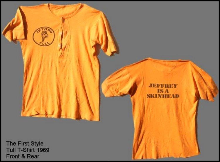 Compre uma camiseta do Jethro Tull e vire o maior pegador