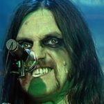 Motörhead em 1987: Lemmy sem o baixo e maquiado igual a cantor de black metal (!)