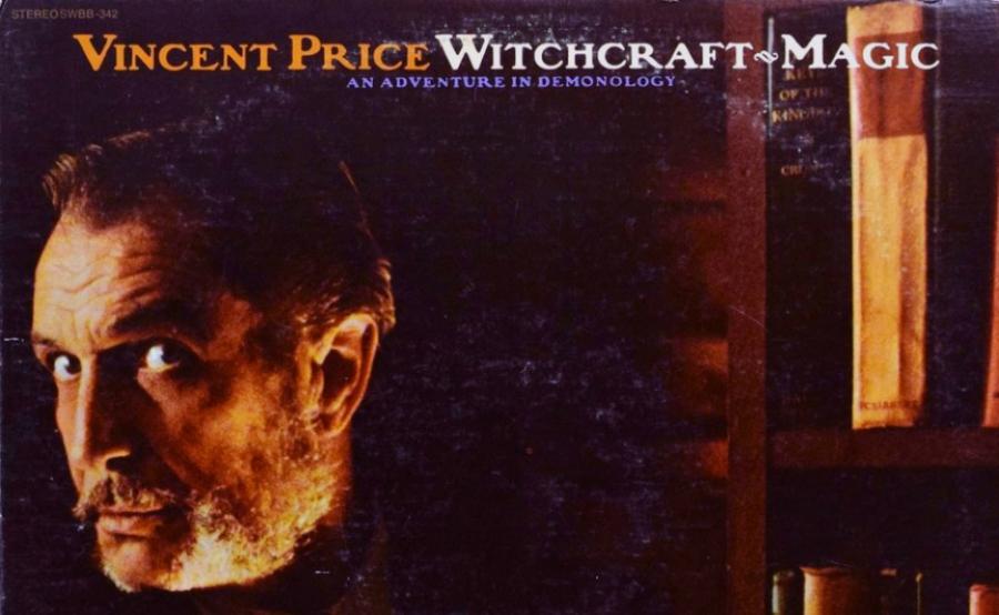 Vincent Price num disco que ensina você a fazer pacto com o diabo