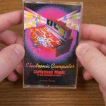 Electronic computer Christmas Music