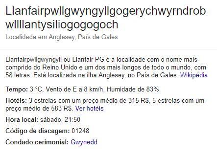 O que acontece em Llanfairpwllgwyngyllgogerychwyrndrobwllllantysiliogogogoch fica em Llanfairpwllgwyngyllgogerychwyrndrobwllllantysiliogogogoch