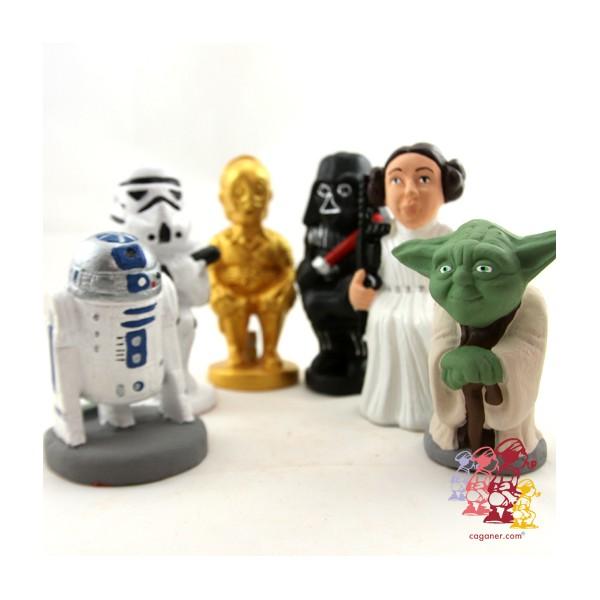 E agora tem boneco caganer de Star Wars