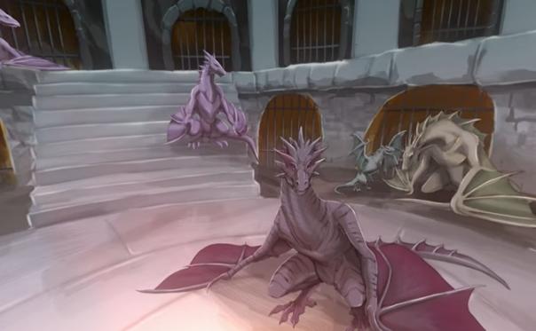 Uma animação que conta a história do Fosso dos Dragões de Game of Thrones