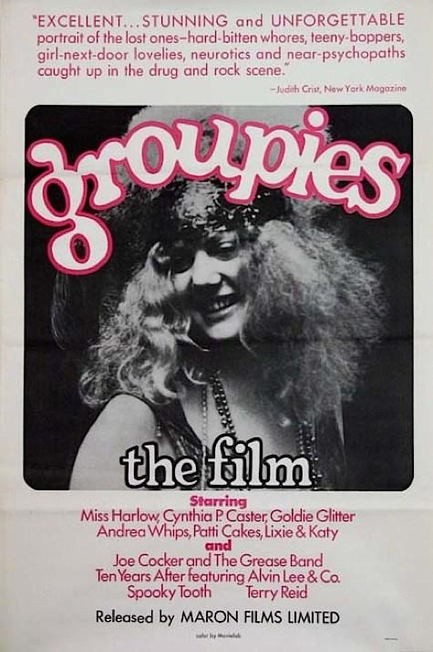 O dia a dia maluco das groupies num documentário de 1970