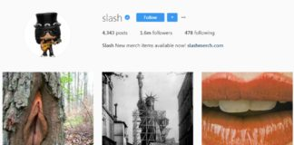 Já viram que o Slash tem um Instagram bom pra c...?