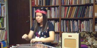 "Democracia chinesa: ""Sweet child o'mine"" tocado num guzheng"