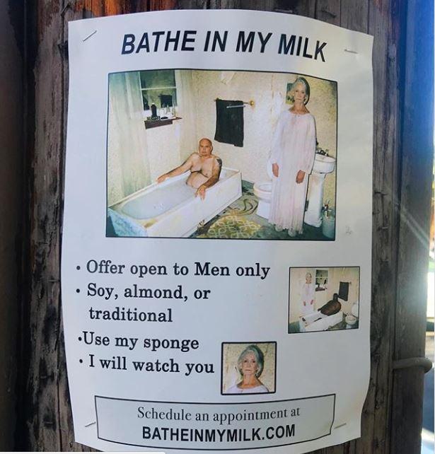 """""""Tome banho no meu leite"""""""