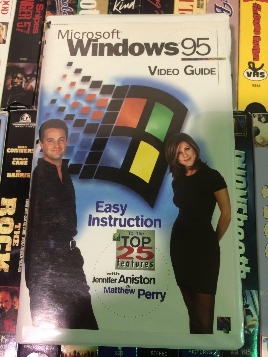 Quando a turma de Friends ensinou você a mexer no Windows 95