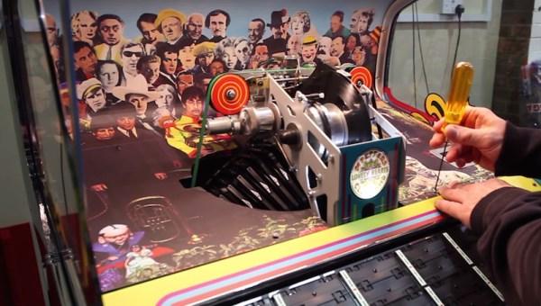 Fizeram uma jukebox comemorativa de 50 anos de