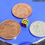 Fizeram o menor cubo mágico do mundo