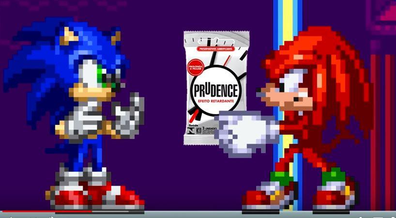 Um conto soft porn do Sonic, com trilha do The Cure