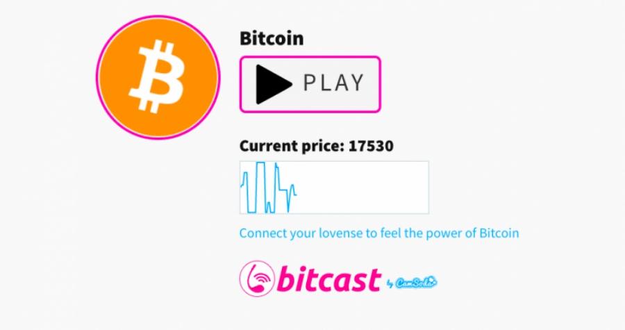 BitCast: um aplicativo que faz seu vibrador funcionar à medida que o Bitcoin aumenta
