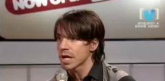 """Anthony Kiedis já falou """"Califórnia"""" uma porrada de vezes: temos imagens"""