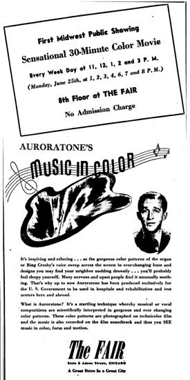 Auroratone: o filme psicodélico de Bing Crosby