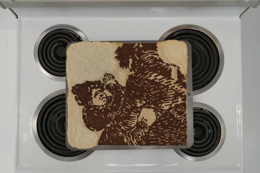 Biscoitos de guerra: levaram as gravuras de Goya pra assar no forno