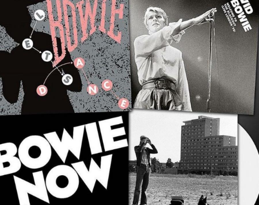 Oito (oi-to!) lançamentos de David Bowie chegando