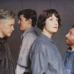 New Order pouco antes do Brotherhood, ao vivo em 1986