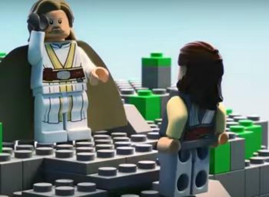 Fizeram Os últimos Jedi numa versão de dois minutos, em Lego