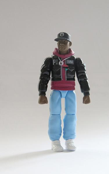 Fizeram action figures do Public Enemy