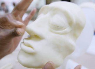 A arte da restauração facial de cadáveres