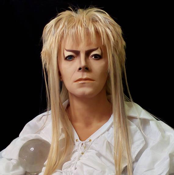 Alejandra Montiel fez um busto de David Bowie como o Jareth do filme Labirinto