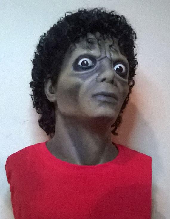 Alejandra Montiel fez um busto de Michael Jackson como no clipe de Thriller