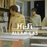 Allah-Las fazendo uma visitinha a uma loja de discos