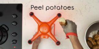 Como cozinhar com um drone
