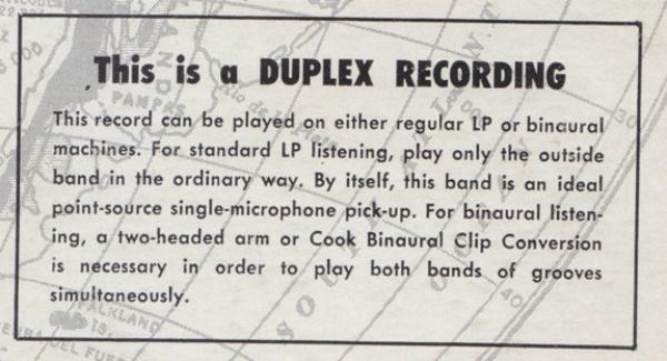 Estéreo antes do estéreo: o disco duplex de Emory Cook